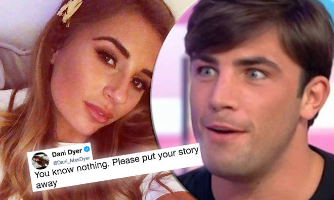 Dani Dyer hits out at claims she 'pretended to love' Jack Fincham