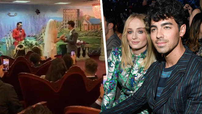 Joe Jonas and Sophie Turner secretly got married