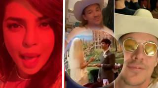 Sophie Turner and Joe Jonas had a secret star-studded Vegas wedding