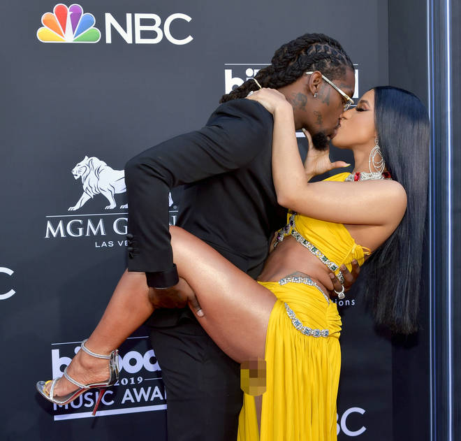 Cardi B believes this photo of her and Offset was doctored