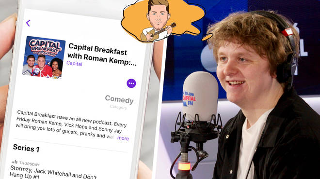 Lewis Capaldi appears on the second episode of the Capital Breakfast podcast
