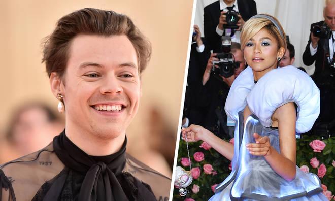 Harry Styles and Zendaya at Met Gala 2019