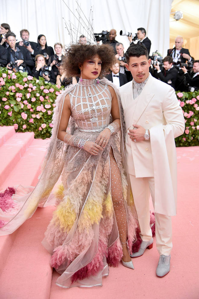 Priyanka Chopra and Nick Jonas hit the 2019 Met Gala red carpet