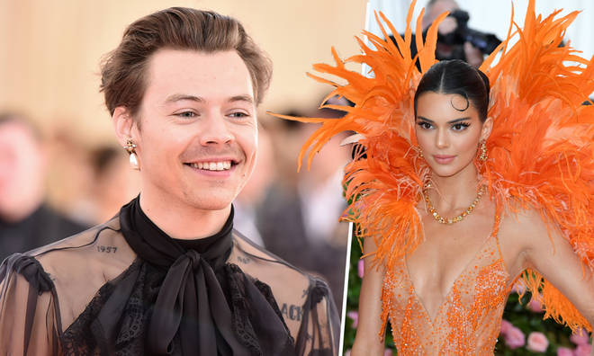 Harry Styles and Kendall Jenner caught up at the 2019 Met Gala