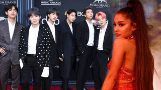 Ariana Grande and BTS have fans begging for a collaboration
