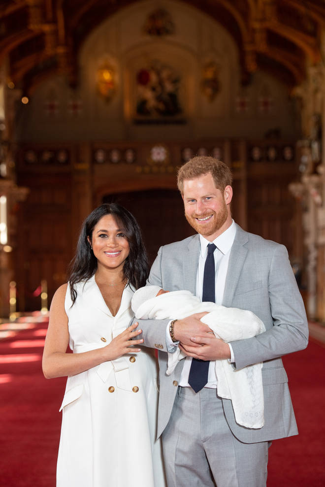 Meghan Markle looked stunning after giving birth two days ago