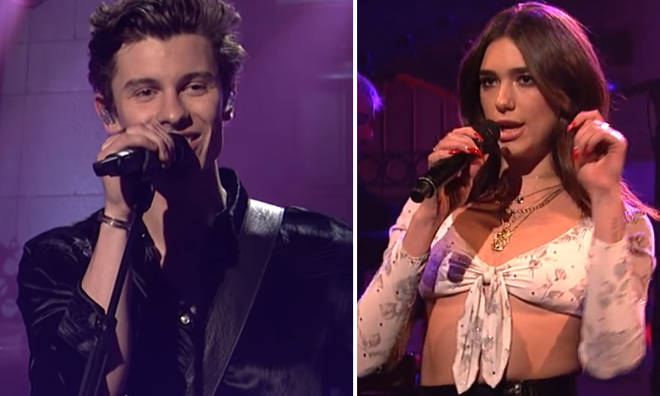 Shawn Mendes originally wrote the song for Dua Lipa.