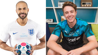 Marvin Humes and Roman Kemp will be going head to head in Soccer Aid For Unicef
