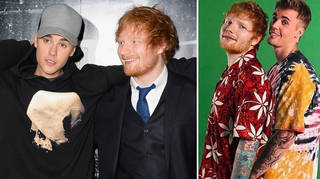 Ed Sheeran and Justin Bieber are about to drop 'I Don't Care'