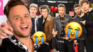 Olly Murs had everyone in tears with his One Direction throwback