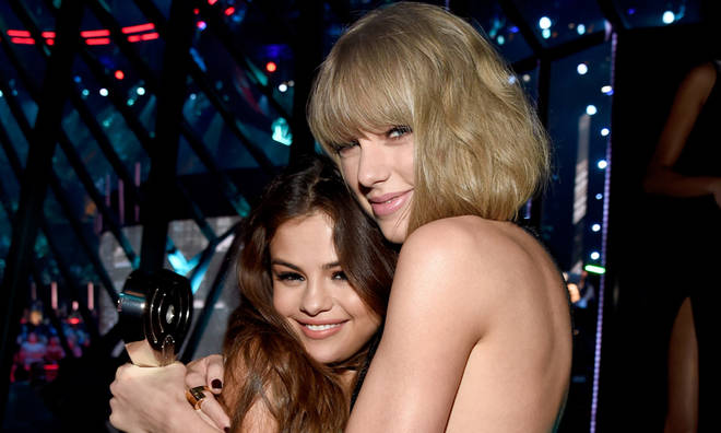 Taylor Swift hinted at a Selena Gomez collaboration
