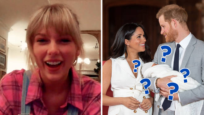 Taylor Swift and Prince Harry & Meghan Markle