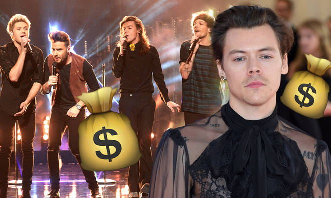 Harry Styles is the richest member of One Direction