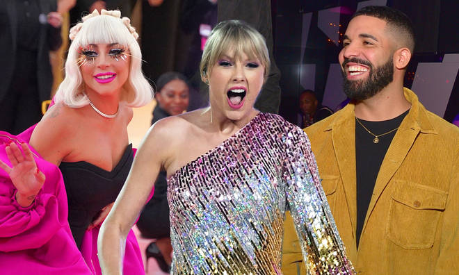 Taylor Swift is a huge fan of Drake and Lady Gaga