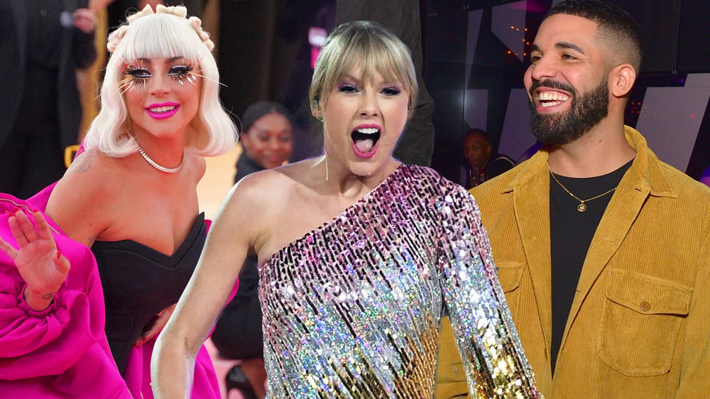 Taylor Swift Stans Lady Gaga And Drake As She Discusses What She's Currently Obsessed With