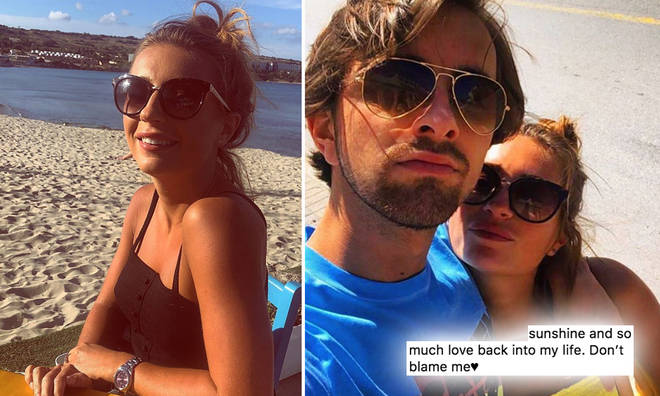 Dani Dyer and ex Sammy Kimmence are officially back together