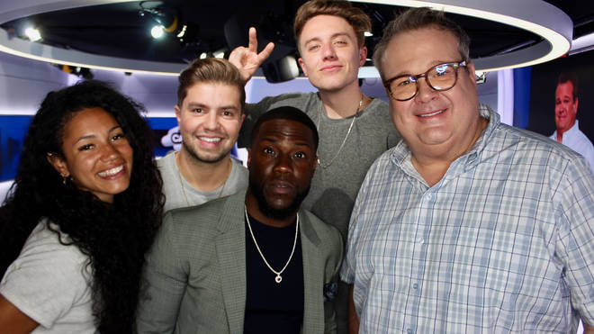 Kevin Hart and Eric Stonestreet caught up with Capital Breakfast