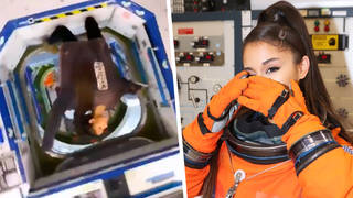 Ariana Grande shared an Instagram Story of her visit to NASA