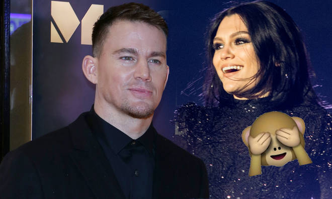 Channing Tatum left a racy comment on girlfriend Jessie J's Instagram post