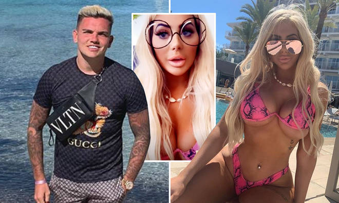 Sam Gowland and Chloe Ferry have slammed reports they're back together