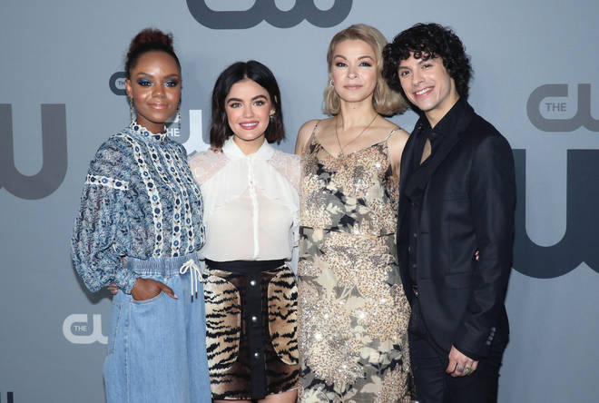 Ashleigh Murray, Lucy Hale, Julia Chan and Jonny Beauchamp all star in Katy Keene