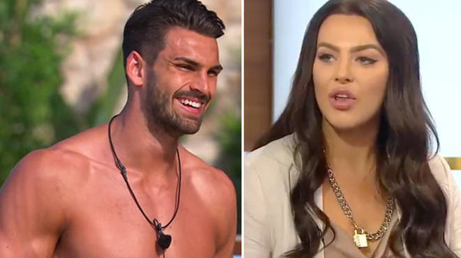 Rosie Williams and Adam Collard were together on Love Island for a brief time
