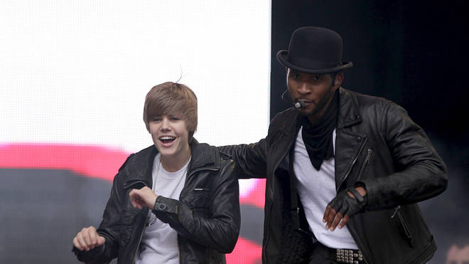 Justin Bieber joined Usher on stage at Capital's Summertime Ball 2010