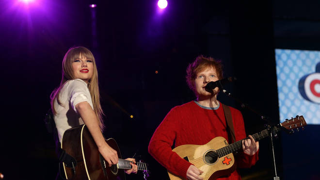 Taylor Swift and Ed Sheeran sang together at Capital's Summertime Ball