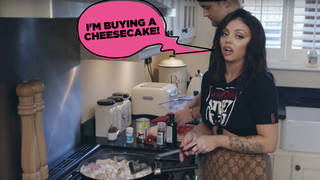Jesy Nelson starred in the first episode of Eat In with Little Mix