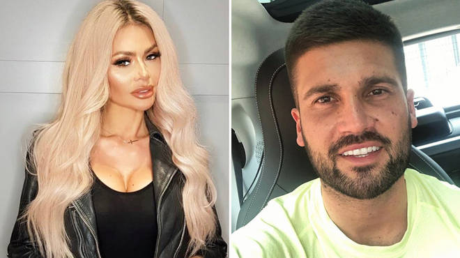 Chloe Sims and Dan Edgar headed off to Ibiza together