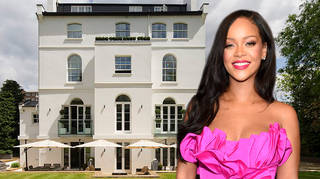 Rihanna recently revealed she's been living in Londn