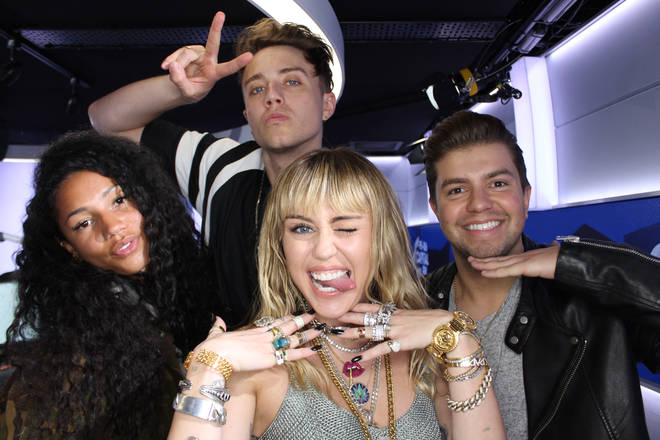 Miley Cyrus spoke to Capital Breakfast with Roman Kemp about Black Mirror