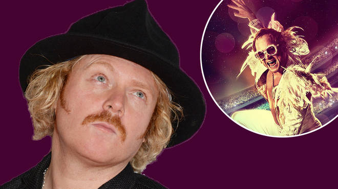 Eagle-eyed viewers spot Celebrity Juice's Keith Lemon in the new Elton John movie