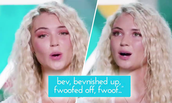 Love Island contestant introduces her 'slang' into the show