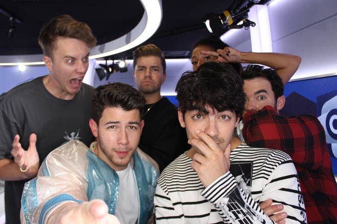 Jonas Brothers caught up with Capital Breakfast with Roman Kemp
