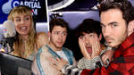 Miley Cyrus quizzed the Jonas Brothers on their purity rings