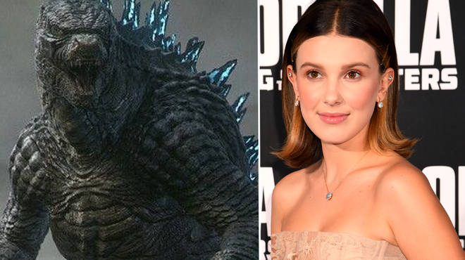 Millie Bobby Brown stars in the new Godzilla movie