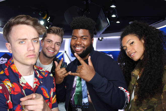 Khalid caught up with Capital Breakfast with Roman Kemp