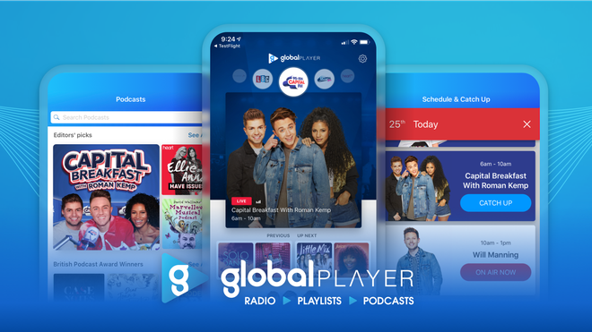Download Global Player in the App Store now.