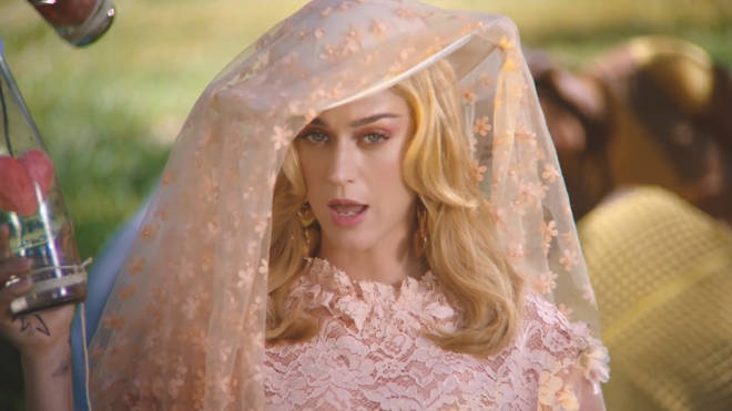 Katy Perry visits a retreat in 'Never Really Over' video