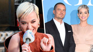 Katy Perry addressed her engagement to Orlando Bloom