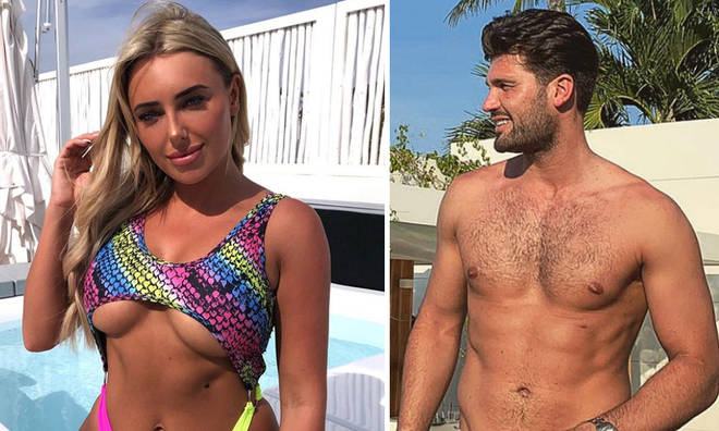 Dan Edgar and Amber Turner are on a romantic holiday in Ibiza