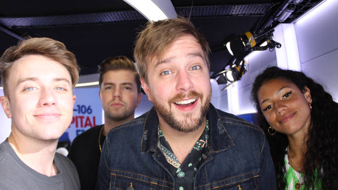 Iain Stirling joined Capital Breakfast with Roman Kemp