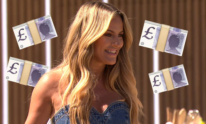 Caroline Flack is apparently paid £250,000 for Love Island