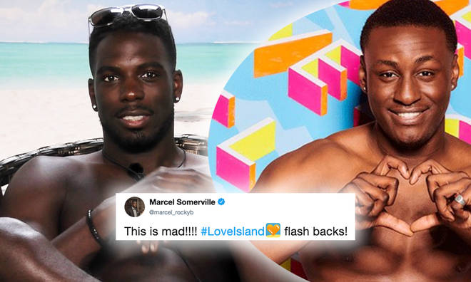 Marcel Somerville makes observations about race on Love Island