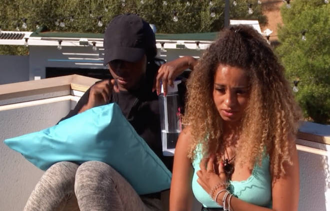 Amber Gill is finding it hard to make up her mind