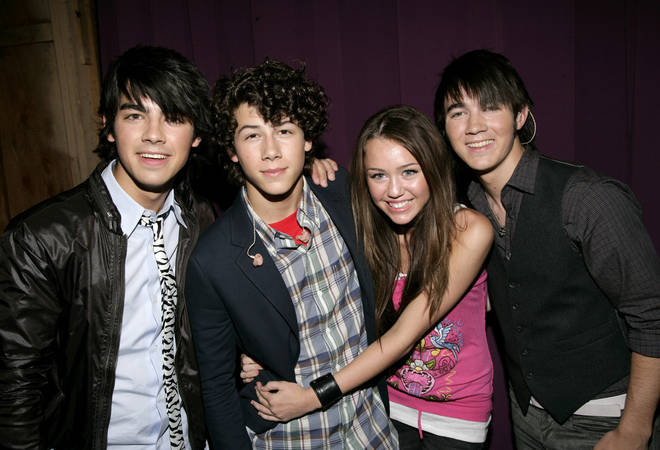 Miley Cyrus and Nick Jonas dated when they were 14