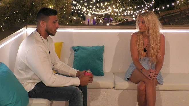 Lucie Donlan told Tommy Fury she was more interested in Joe