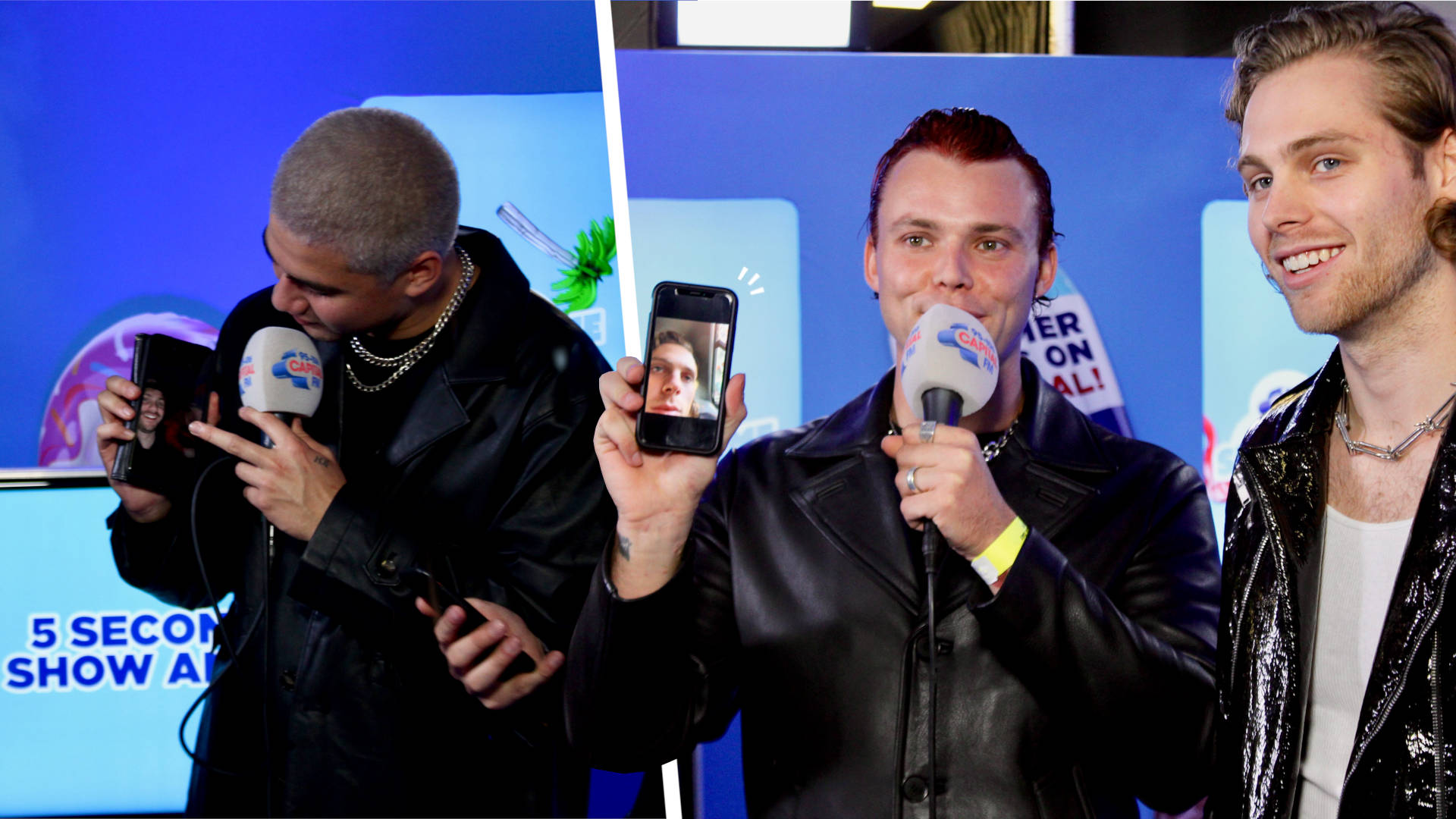 WATCH: 5SOS Swap Phones And Go Through Each Other's Camera Rolls