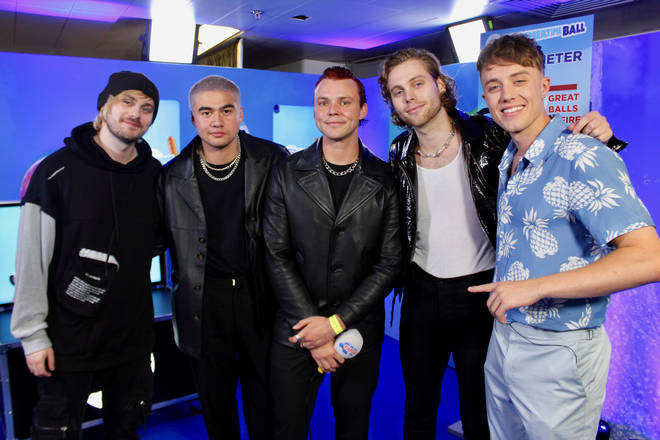 5 Seconds of Summer caught up with Roman Kemp at the #CapitalSTB
